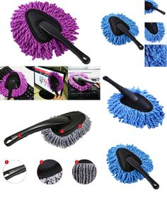 [Visit to Buy] Car cleaning brush car duster dust wax drag wax shan wax brush dust long brush Cars Care Detailing cars Accessories Brush Clean #Advertisement