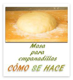 Cómo Se Hace la masa para empanadillas dulces o saladas  Receta en youtube; http://youtu.be/yi7QGFET5OM?list=UUiIfvIjvHGur2SlTHn5o5lQ También en el blog;  http://comosehace22.blogspot.com.es/2014/02/masa-empanadillas.html