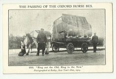 Oxon Witney passing of the Oxford horse bus | eBay