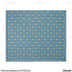 Cute stars pattern duvet cover