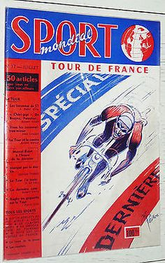SPORT MONDIAL N°17 1957 CYCLISME TOUR DE FRANCE PRESENTATION FOOTBALL ARONDE