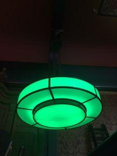Mega Art Deco lamp | Industriële lamp uit Midland bank Londen origineel - Impressie verlichting - Horecameubilair - Sijf & Dax