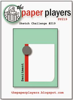 The Paper Players: Paper Players #219: A Sketch Challenge from Nance
