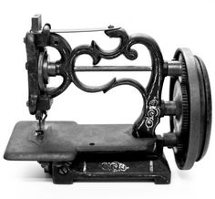 1870-1880 Hand crank sewing machine