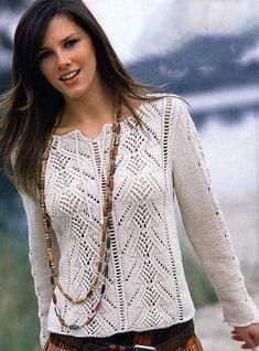 nice shirt, stitch pattern chart given Summer Knitting, Lace Knitting, Knitting Stitches, Knitting Designs, Knitting Patterns Free, Knit Patterns, Free Pattern, Free Crochet, Knit Crochet