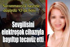 Antalya'da 4 yıl önce evine götürdüğü eski sevgilisi 26 yaşındaki Ö.P.'yi elektroşok cihazıyla bayıltıp tecavüz ederken çektiği görüntüleri....