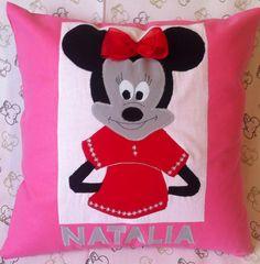 Happy Pillow- Minnie- handmade pillow  35x35 cm  Order at: happy_pillows@yahoo.com