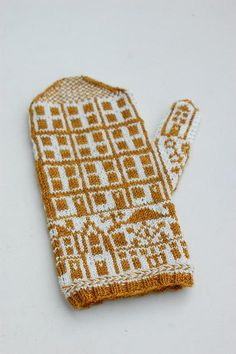 knitted mittens (osloann, pattern: jessica tromp)
