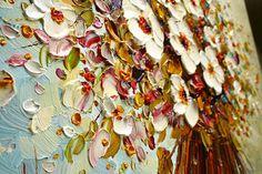 «Я чувствую, что мне просто необходимо выражать внутренние ощущения через абстрактную живопись», — пишет Paula Nizamas, художник из Флориды, США, с чьим необычным творчеством мне хотелось бы вас познакомить. В 1985 году Паула получила свою первую награду за картину «Мир» на Международном конкурсе молодых художников в Москве, с 1996 года работала в качестве иллюстрато…