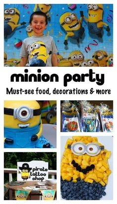 Minion birthday part