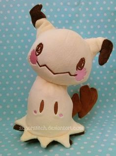 Pokemon: Mimikkyu by sugarstitch.deviantart.com on @DeviantArt