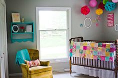 sweet baby girl nursery :)