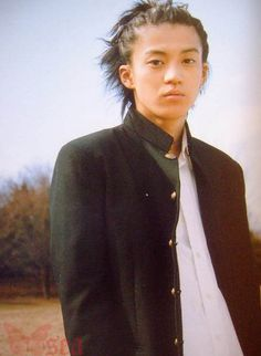 Shun Oguri when he was portraying Uchiyama in Gokusen
