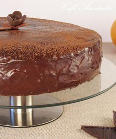 Tort czekoladowo-pomarańczowy @cafeamaretto