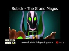 Dota 2 Rubick - The Grand Magus - Soundset - Voice