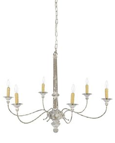 Rustic Country Chandelier | Williams-Sonoma