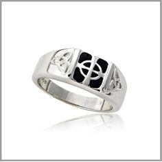 Shop beautiful Cross Rings and Cross Jewelry. Our Celtic Cross Ring is magnificent. Celtic Cross Men's ring with the Celtic cross design. Men's Celtic Cross Ring, largest selection of Celtic cross ring on sale. Mens Sterling Silver Necklace, Sterling Silver Cross, Silver Jewelry, Onyx Necklace, Silver Ring, Jewlery, Celtic Knot Jewelry, Irish Jewelry, Jewelry Companies