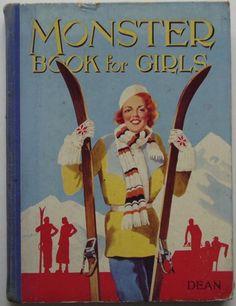 Children's Books, Annuals. The Monster Book For Girls
