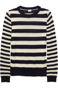 Check out this Iris & Ink striped cashmere sweater $136, get it here: http://rstyle.me/~iVJU