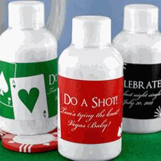 Personalized Silhouette Energy Shots - As Low As $3.00