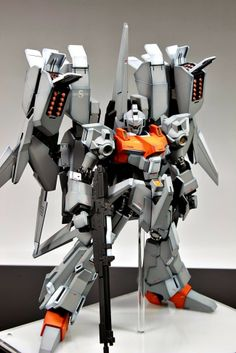 MG 1/100 ReZEL Type C Defenser a + b unit General Revil Painted Build - Gundam Kits Collection News and Reviews