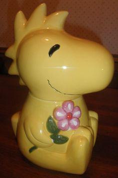 Benjamin Medwin Peanuts Woodstock Cookie Jar