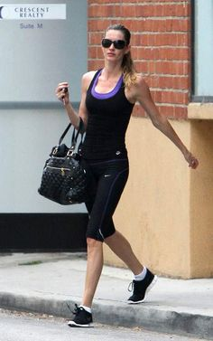 Celebrity workout clothes