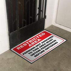 Creative Restricted Area Floor Sticker for your home ON SALE NOW ONLY @www.LA31.store  Fill your home with our arts by LA31. Enquire us now! Available for overseas delivery!  #LA31 #LamedAleph31 #Singapore #Singaporeproperty #singaporearts #singaporestickers #singaporehomes #singaporehomedecor #singaporean #singaporecouples #singaporefamilies #family #hdb #executivecondominium #condominium #singaporewindows #singaporedoors #singaporewallpapers #doorsticker #windowsticker #wallpaper #wallarts