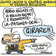 Informazione Contro!: Silvio lascia il centro