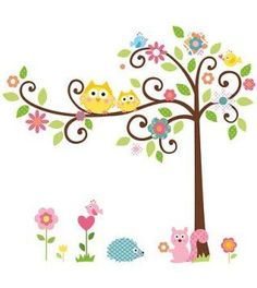 Baby nursery wall decor is truly theepitome of cuteno matter if you are aftergirl nursery wall decor orboy nursery wall decor. In fact you will absolutely amazed at the wide variety of baby nursery wall decor to pick from. Indeed you can find all kinds ofwhimsicalpieces of nursery wall art   RoomMates RMK1439SLM Scroll Tree Peel & Stick Wall Decal MegaPack