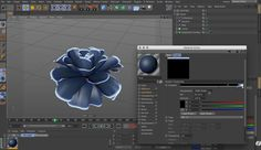 Cinema 4d tutorial by Daniel Danielsson how to Making Infinite Blooming Flower with Cinema 4d and produce and animate the flower petals.
