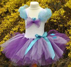 My Little Pony, Rarity inspired costume, Handmade Tutu Dress, Birthday, Party…