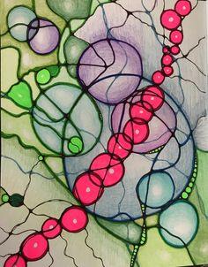 Neurographic Art – Redraw the world. Different Kinds Of Art, Ink Pen Drawings, Art Curriculum, Zen Doodle, Crayon, Mandala Art, Art Techniques, Art Tutorials, Abstract Art