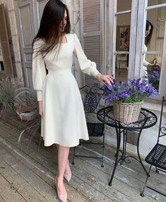 Elegant Dresses, Pretty Dresses, Beautiful Dresses, Modest Dresses, Stylish Dresses, Classy Dress, Classy Outfits, Classy Girl, Chic Dress
