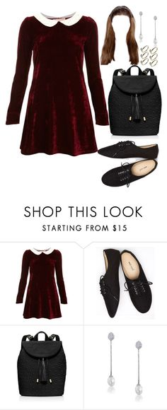 """Untitled #635"" by eduardafrancisca69 ❤ liked on Polyvore featuring Oh My Love, Wet Seal, Tory Burch, Bling Jewelry and Warehouse"