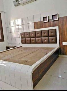 House Furniture Design, Door Design Interior, Interior Work, Rustic Furniture, Simple Bed Designs, Bed Designs With Storage, Bedroom False Ceiling Design, Room Design Bedroom, Bedroom Pics