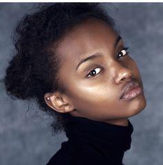@missfarhiyashire | Photo by @nurukimondo1 || black beauty. Natural beauty. Dark skin women. Dark skin beauty. Melanin. Brown skin beauty. Dark Bella.