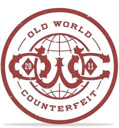 Old World Counterfeit in Logos / Logo Type