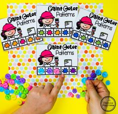 Color Worksheets Join our Email Group for Ideas, Freebies & Special Offers.Do you need fun color worksheets and centers for teaching preschool kids about col Color Worksheets For Preschool, Back To School Worksheets, Preschool Colors, Preschool Crafts, Dinosaurs Preschool, Kindergarten Worksheets, Autism Activities, Classroom Activities, Vocabulary Activities