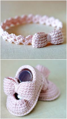 Crochet Baby Headband Patterns You'll Love - The WHOot - - These Crochet Baby Headband Patterns are super cute and there's something for everyone. Check them all out now and Pin your favorites. Crochet Headband Free, Crochet Bows, Cute Crochet, Easy Beginner Crochet Patterns, Crochet For Beginners, Baby Turban, Baby Band, Baby Headband Tutorial, Bow Tutorial