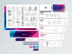 Metro Rail visual identity
