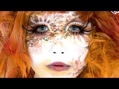 Japanese makeup artist MINORI interview & exhibition | Shiro-nuri art | 白塗りヘアメイクみのり展示会 - YouTube