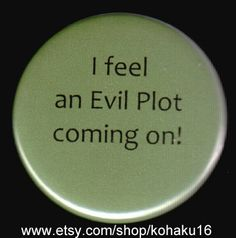 Here It Comes Button by kohaku16 on Etsy