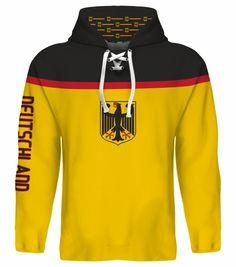 NEW 2015 Germany Deutschland Hockey World Cup Hoodie NHL Seidenberg Goc Ehrhoff