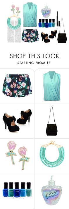 """""""beach night"""" by dianamohmed on Polyvore featuring New Look, Big Bud Press, BaubleBar, Zoya, Lolita Lempicka and Christian Dior"""