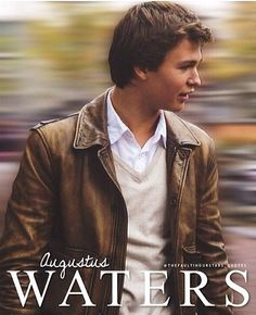 (The Fault in our Stars) Augustus Waters Born: ? Death: Osteosarcoma I really didn't see that coming in the book. Divergent Quotes, Tfios, Hazel Grace Lancaster, John Green Books, Augustus Waters, Looking For Alaska, Hollywood, The Fault In Our Stars, Animal Quotes