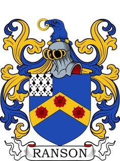 Ranson Family Crest and Coat of Arms
