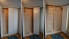 Hack an IKEA PAX cabinet to an affordable murphy bed