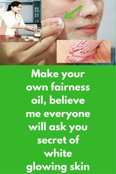 Make your own fairness oil, believe me everyone will ask you secret of white glowing skin Ingredients required: Sesame oil Vitamin E oil Sweet almond oil Coconut oil Orange essential oil Method Take a clean bowl Add 2 tbsp Vitamin E oil Add 1 tbsp of Sesame oil and 1 tbsp of Sweet almond oil Finally add few (around 7-8 drops) drops of orange essential oil. Use it before bed time. …