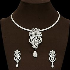 Indian Jewelry Online: Shop For Trendy & Artificial Jewelry at Utsav Fashion Indian Jewellery Online, Indian Jewelry, Traditional Indian Jewellery, Pendant Set, Anklets, Artisan, Women Jewelry, Stone, Diamond